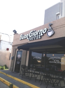 Buon Giorno Coffee Shop in Fort Worth, Tx