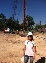 Lindsey Blake - Houston - Alpha Testing, Inc. - Auger Cast Pile Installation