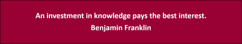 Benjamin Franklin Quote - Alpha Testing, Inc.