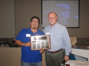Founders Award - Victor Barron 2