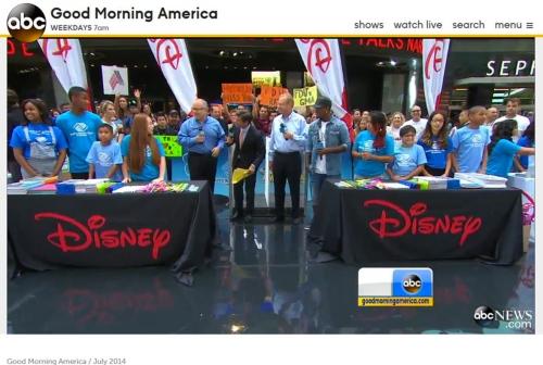 Junior on Good Morning America