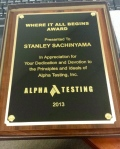 Stanley - where it all begins award