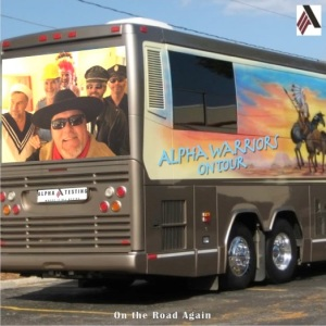 Alpha Warriors Tour Bus