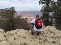 JW in Grand Canyon