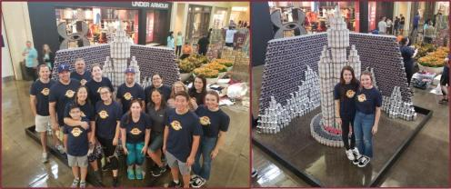 CANStruction Dallas Team
