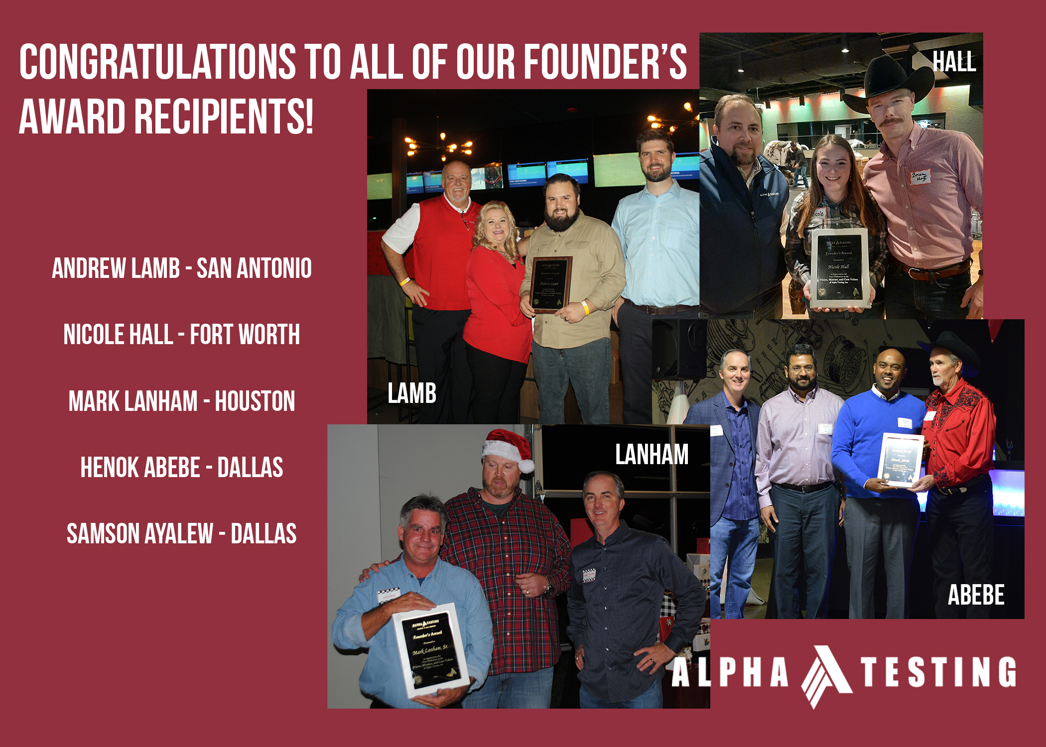 Founder Awards